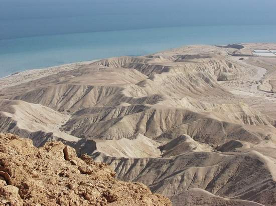 Hills by the Northern Shore of Dead Sea