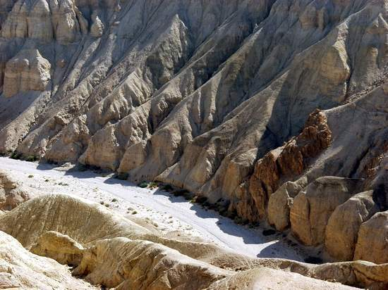 Canyon by the Northern Basin of the Dead Sea