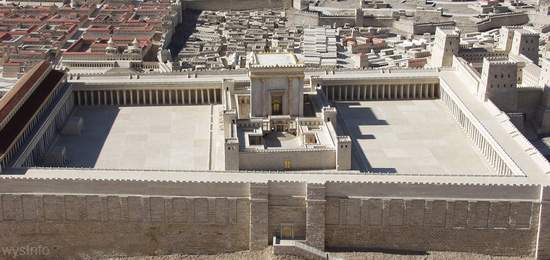 Model of the 2nd Temple in Israel Museum