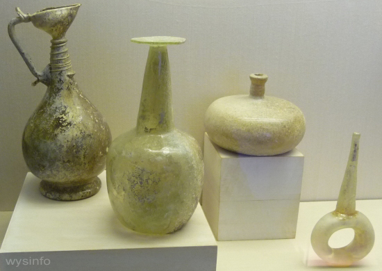 Islamic bottles with distinct shapes
