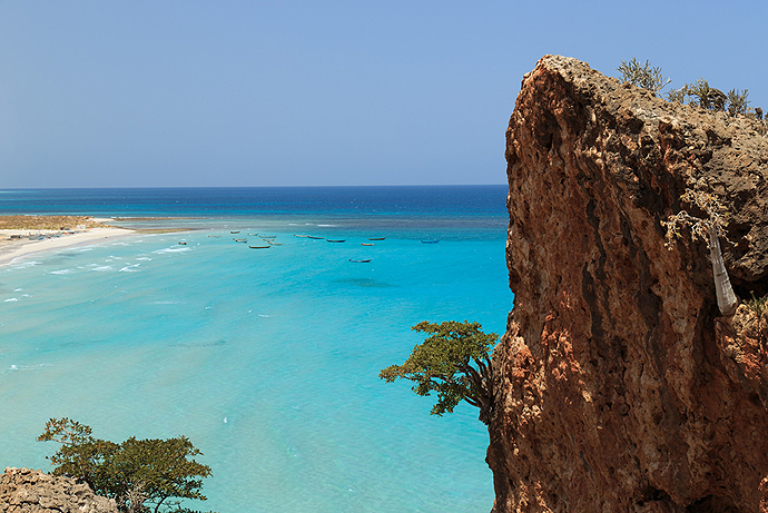 Socotra Island in Yemen. Image Courtesy of Valerian Guillot.