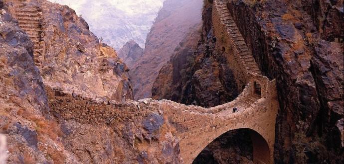 Shahara-Bridge, Yemen
