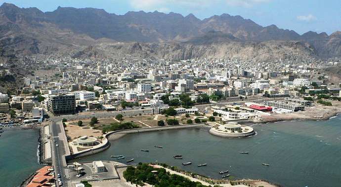 A view of modern-day Aden