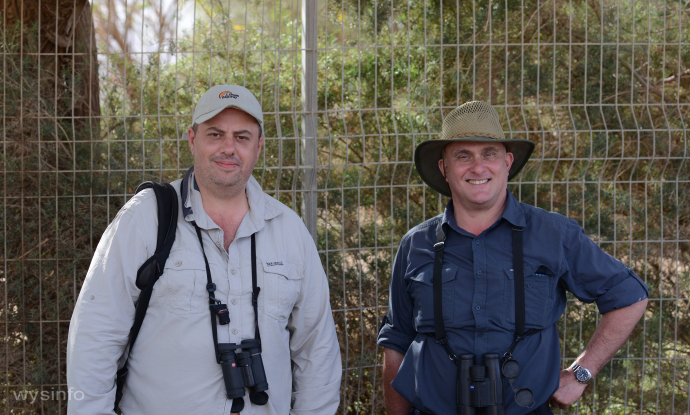 Birders from England in Eilat